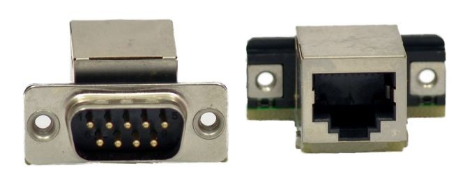 RJ45-TO_DB9M Adapter